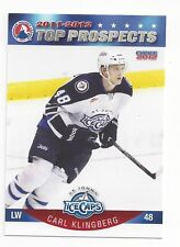 2011-12 AHL Top Prospects Carl Klingberg (Zug)