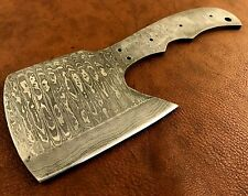 More details for handmade damascus steel hatchet blank-axe blank-heat treated-hb2