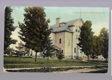 pk34852:Postcard-High School,Wingham,Ontario