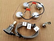 Premium Upgraded Full Wiring Harness for Les Paul with Custom 550k Cts Pots