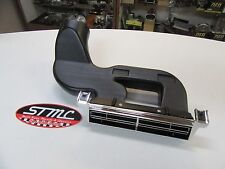 1967 67 CHEVELLE EL CAMINO SS NEW CHROME STEEL CENTER AC VENT HOUSING ASSEMBLY