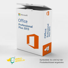 Microsoft Office 2013 Professional Plus 1 PC 32&64 Bit SOFORT per EMAIL