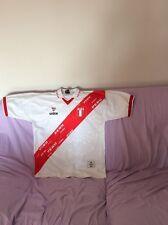 Splendida maglia da calcio nazionale PERU della walon vintag Tg XL da collezione
