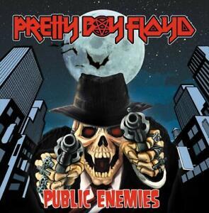 PRETTY BOY FLOYD - Public Enemies - Ltd. Gatefold BLACK LP - original verpackt