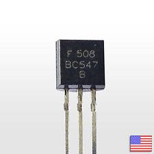 10x (10pcs) BC547B NPN Bipolar Amplifier Transistor BJT BC547 - Free Shipping