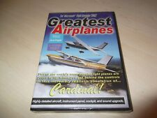 GREATEST AIRPLANES CARDINAL ~ Flight Simulator 2002 FS2002 ADD-ON NEW SEALED