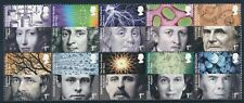 2010 GB ROYAL SOCIETY 350th ANNIVERSARY BLOCK OF 10 FINE MINT MNH SG3026-SG3035