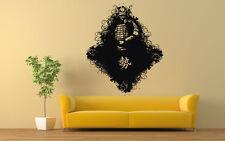 Wall Vinyl Sticker Decals Mural Room Design Art Japanese Warrior Samurai bo617