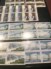 China 2 Full Mnh Sets In Blocks Of 4