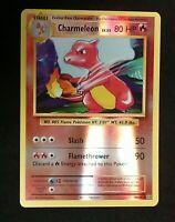 Pokemon card Charmeleon lv.32 10//108 HOLO Stage 1 Uncommon Fire Mint Evolutions