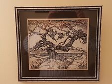 W. P. WESTON PEN AND INK ART CARD 1924