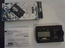 Korg Chromatic Tuner CA-30, Original Packaging & Instructions Included!