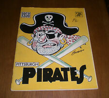 1958 PITTSBURGH PIRATES OFFICIAL YEARBOOK
