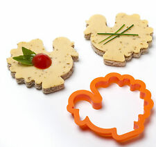 Party Animals Sandwich Cutters by Monkey Business Kitchen Pig Cow Cookie Cutter