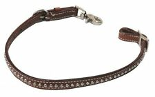 WESTERN HORSE SADDLE WITHER STRAP HOLDS UP THE BREAST PLATE COLLAR MEDUM BROWN