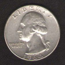 US Silver Quarter for Sale 1964-D with FREE and Fast Delivery