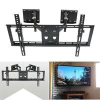 """Tilt Bracket TV Wall Mount Swivel Full Motion Dual-Arm For 32"""" to 65"""" LED LCD US"""