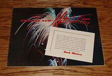 Original 1954 Nash Metropolitan Foldout Sales Brochure 54 Hardtop Convertible