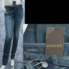GUCCI New sz 38 - 2 Womens Authentic Designer Leggings Pants Jeans w bamboo belt