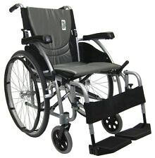 Karman S-115 Ultra Lightweight 26 lb. Wheelchair Silver 20x17