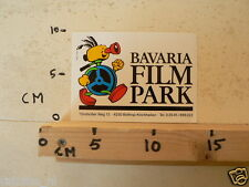 STICKER,DECAL BAVARIA FILM PARK BOTTROP KIRCHHELLEN