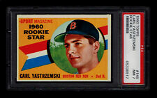 1960 Topps #148 Carl Yastrzemski RC PSA 7 Red Sox C