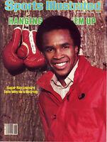 Sports Illustrated 1982 Welterweight Sugar Ray Leonard