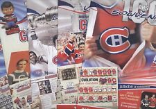 2008-09-10 PHOTO POSTER INSERT JOURNAL DE MONTREAL CANADIENS NHL HOCKEY SEE LIST