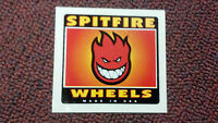 """SPIT FIRE, SKATEBOARD STICKER, COLLECTOR SERIES, made in USA, 2-7/8"""" x 2-3/4"""""""