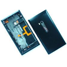 100% Originale Nokia Lumia 900 Alloggiamento Posteriore + fotocamera vetro + PULSANTI LATERALI NERO POSTERIORE