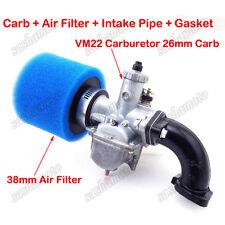 Mikuni VM22 26mm Carburetor Filter Intake Pipe 110 125 140 cc SSR YCF Dirt Bike