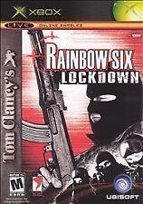 Tom Clancy's Rainbow Six: Lockdown (Microsoft Xbox, 2005) BRAND NEW