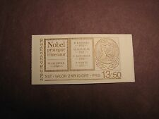Sweden Stamp Booklet Scott# 1566A Nobel Laureates in Literature 1985 Mint L1