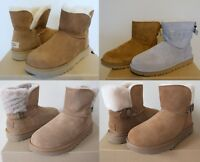 UGG Women's Sheepskin Suede Short boots-Dae Sunshine Perf, Classic Cuff Mini,etc