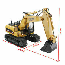 Rc Car Truck Excavator Construction Digger Wireless Remote Control Bulldozer Toy