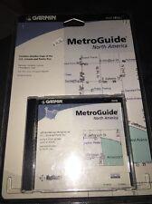 Garmin MapSource MetroGuide North America DVD Maps P/N 010-10468-00 GPSMAP 295