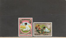 Dubai 152-153 Mnh 2019 Scott Catalogue Value $3.95