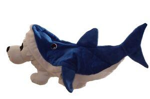Pet Animal Dog Puppy Blue Shark Fish Ocean Cute Funny Halloween Costume M L NEW