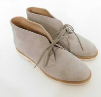 Woman by Common Projects Chukka Suede Desert Boots Natural Tan Sz 35 Italy