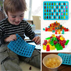 50 Cavity Silicone Gummy Bear Chocolate Mold Candy Maker Ice Tray Novelty