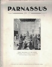 Parnassus Art Magazine April 1930 Edmond Foulc Mexican Art