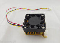 10x Aluminum Heatsink Fin Cooling Fan 3 Pin Cooler 40mm f PC Northbridge Chipset