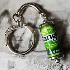 Unique TANGO CAN KEYRING miniature POP soda APPLE retro MIXED UP DOLLY keychain