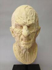 Latex Freddy Krueger Bust Life Size Horror Nightmare on Elm Street Halloween