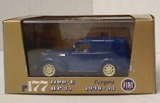 BRUMM R177-01 FIAT 1100E Furgone diecast model van blue body 1949-1953 1:43rd