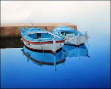 Boat paintings SUMMER BREEZE Coastal art beach house living rooms seascape art