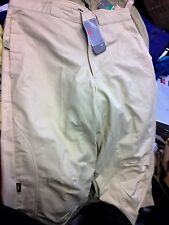 NIKE TRACKSUIT BOTTOMS IN 3/4 BOTTOMS AT £12  IN 33   IN Beige COTTON