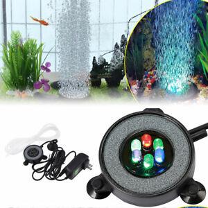LED Aquarium Beleuchtung Mehrfarbig RGB Unterwasser Licht Bubble Aquariumlampe