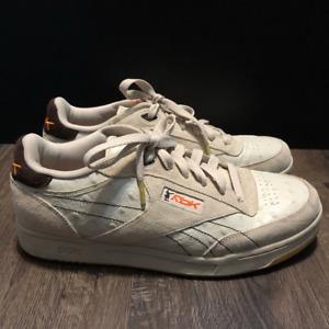 Reebok Mens Club DGK Pump Sneakers Beige  34-166673 Low Top Stevie Williams 11M