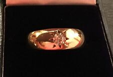 9 Carat Yellow Gold Wedding Signet Fine Rings